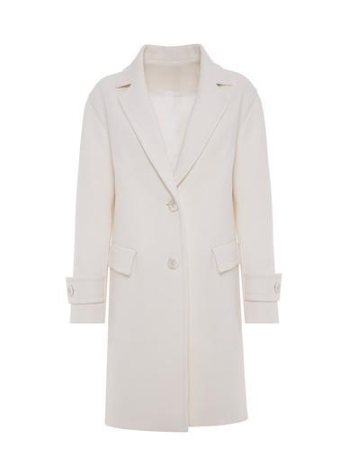 Vekem-Limited Edition Palto Ekru